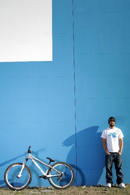 My Shadow is looking at my Bike!