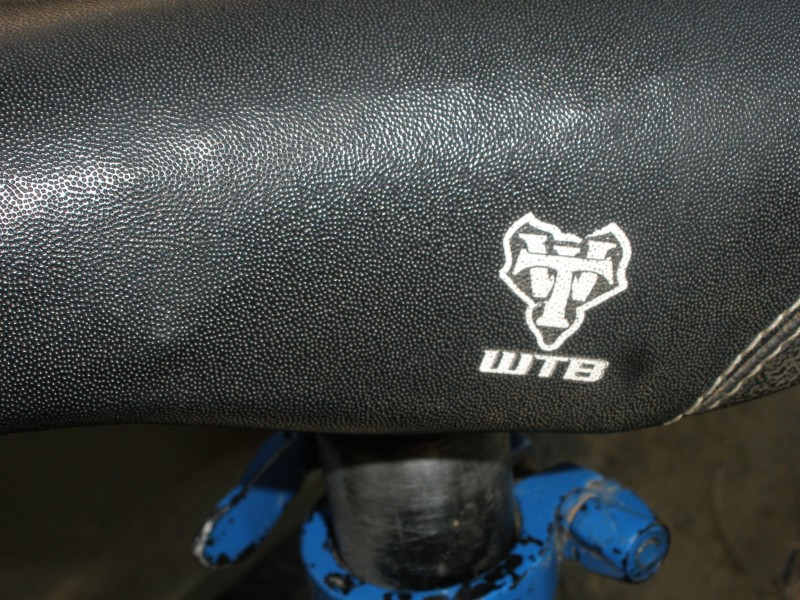 wtb speed v seat. slightly bent