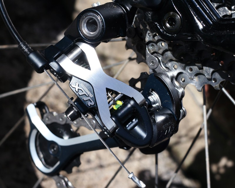 Shimano XTR rapid rise long cage rear mech