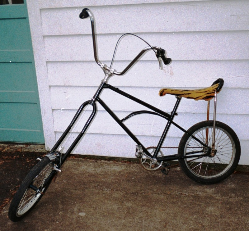 Chopper Bicycles(your own creations only, and pedal powered, not motorized)