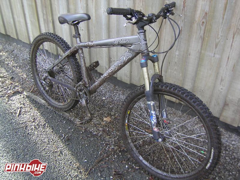 Kona Stuff after ride at Delamere Forest