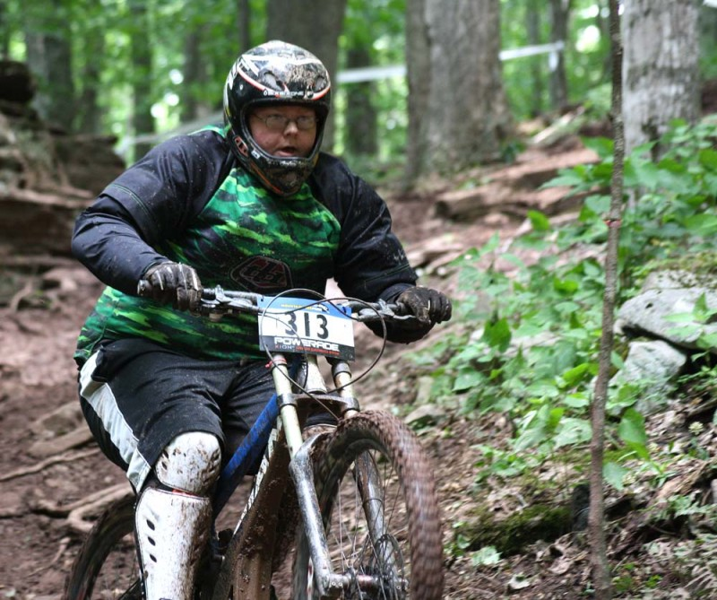 dh race at Snowshoe