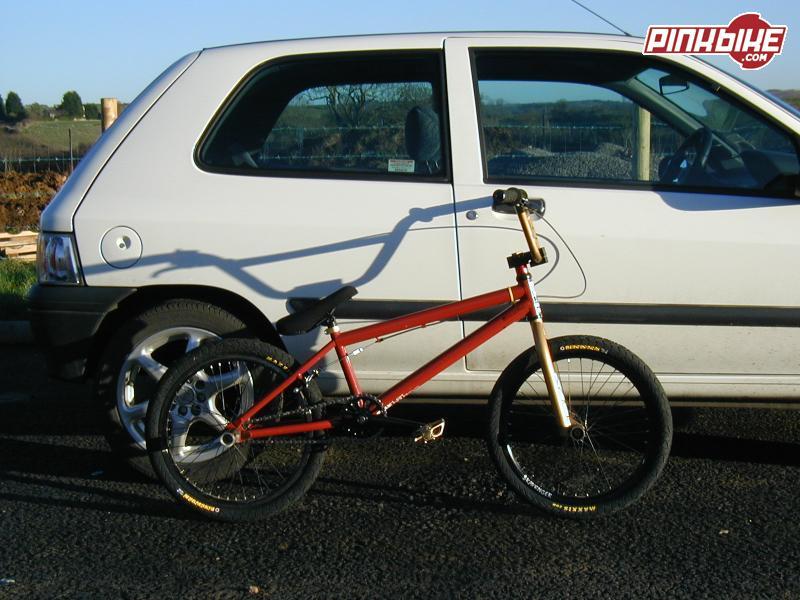 My Fly Diablo park bike