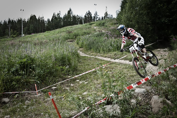 National downhill race...