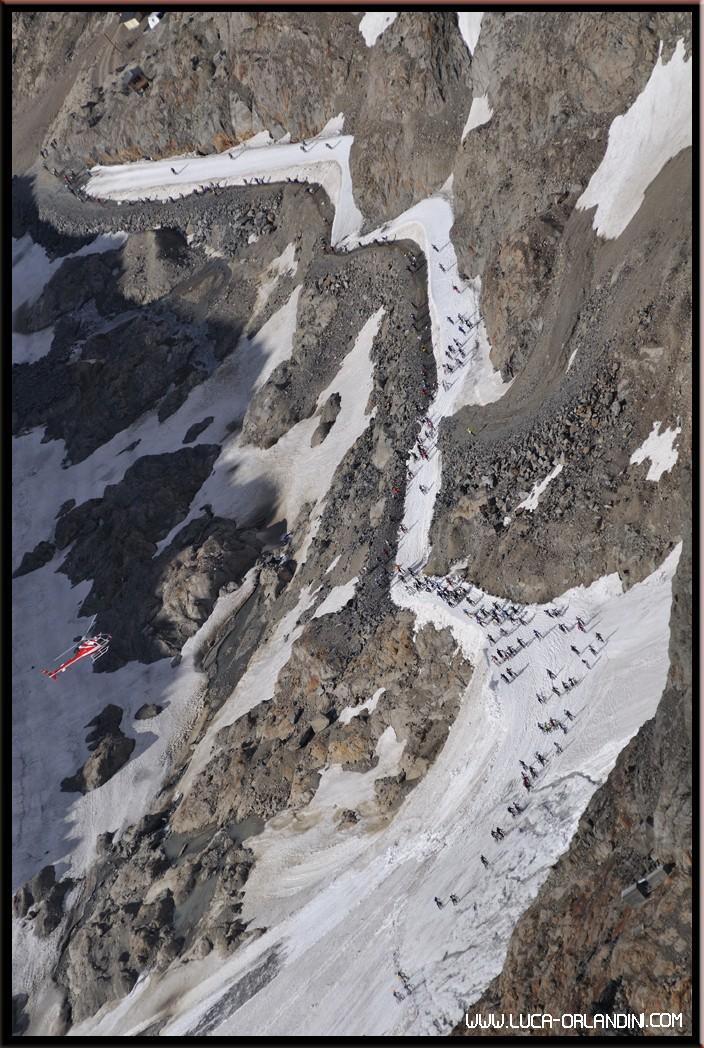 le Pic Blanc à 3330m
