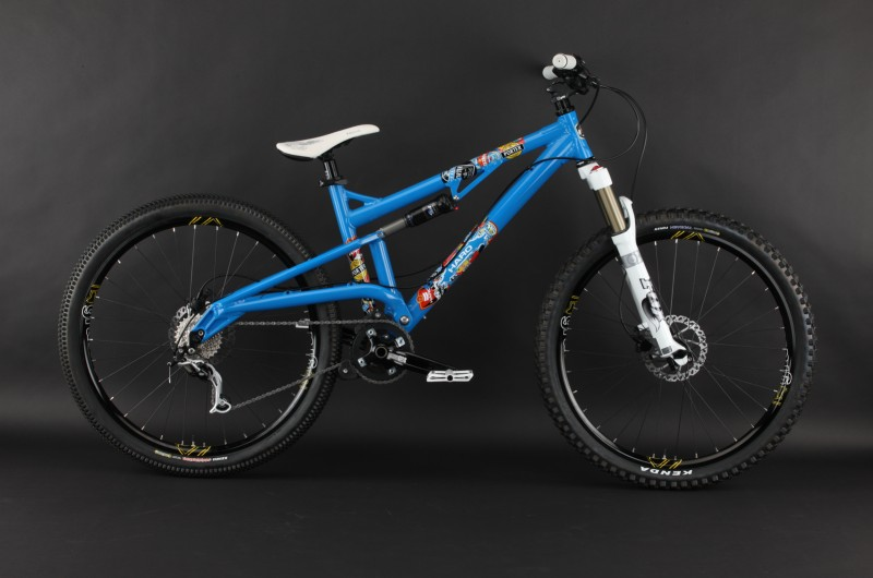 The shop released version of the 2010 Haro Porter