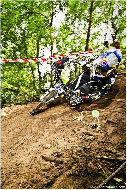 Finnish DH race.