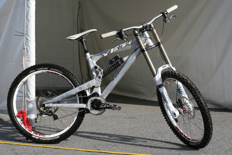 A sweet raw prototype was spotted in the Yeti pits.