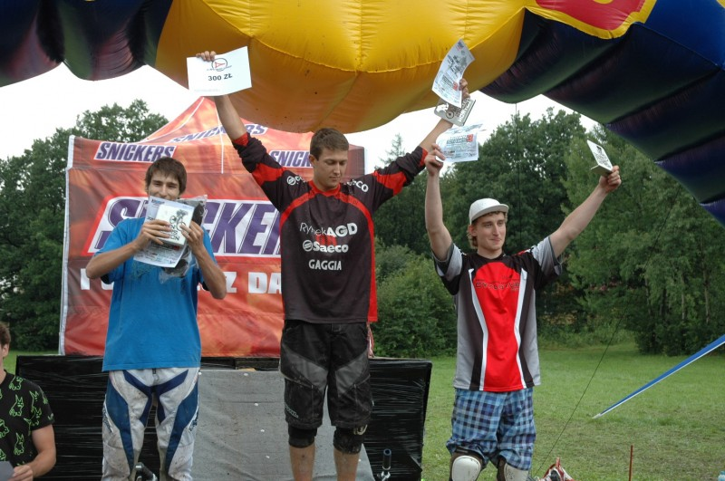 I finished 3rd. I wish I hadn't had a puncture with 1/5 of track still to go so I would win for sure. photo by leogang.ownlog.com