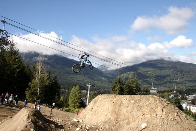 riding in whistler when i was 11