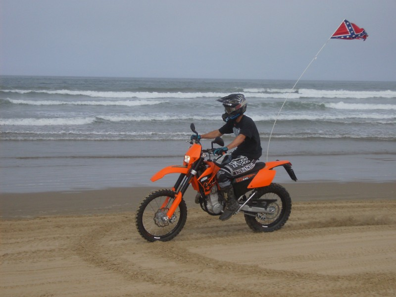 Riding Along The Beach At Pismo Dunes
