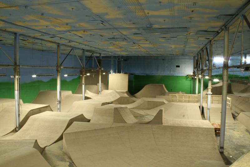 New jump room at Rays