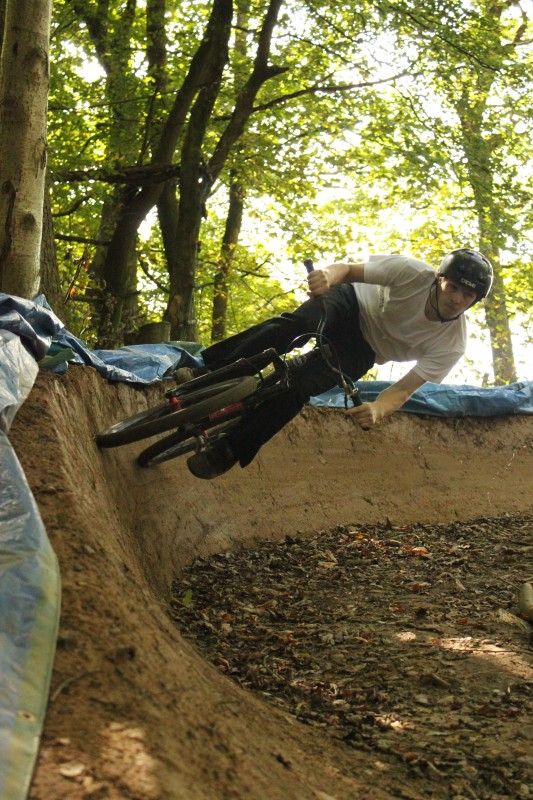 Me berm on new line