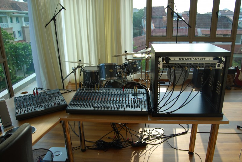 Recording / Editing Studio Update - September 2009