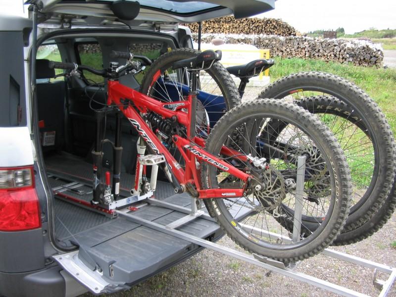 Tirror Bike Rack