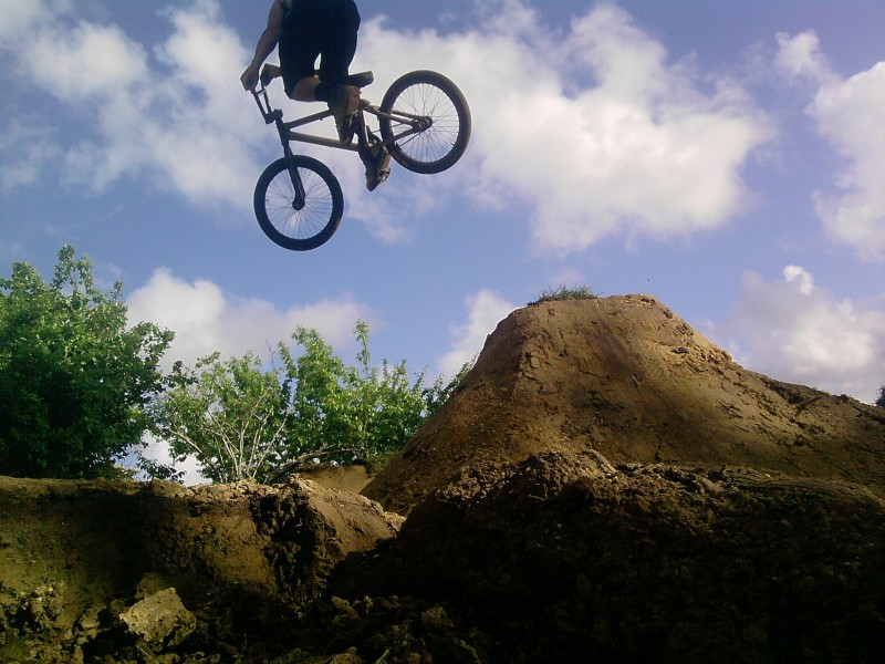 riding the new jump