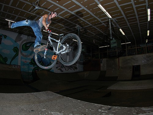 whipping my 18 wheeler...photo credit Justin Luong