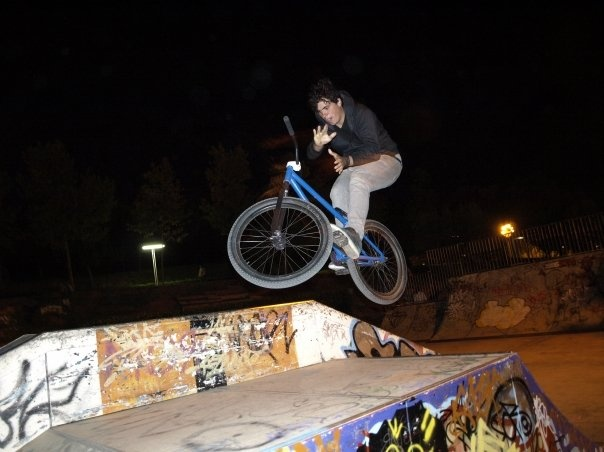 learning barspins on funbox