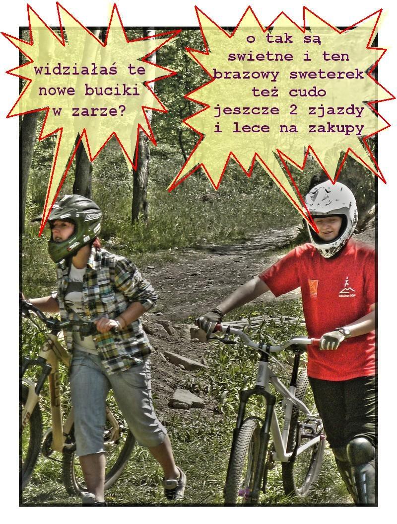 prawdziwa prawda o babach na rowerze