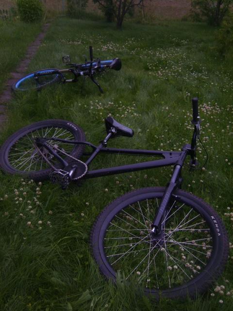 bike. Old photo