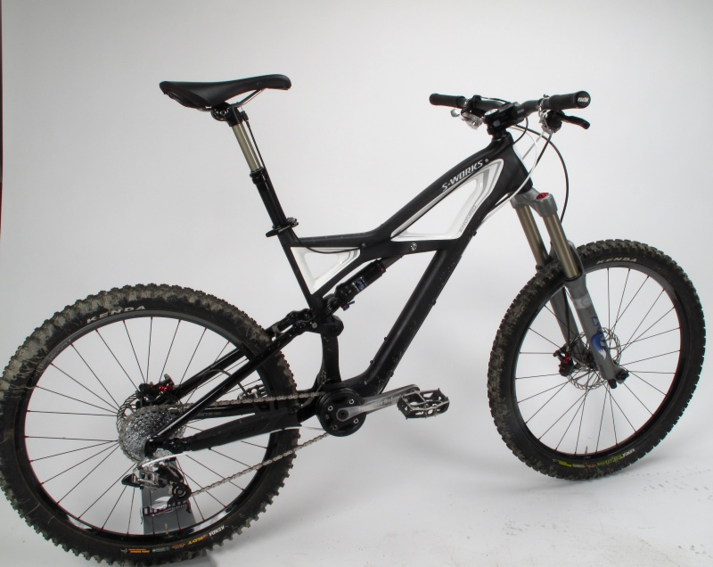 Our custom S-Works Enduro ready for action