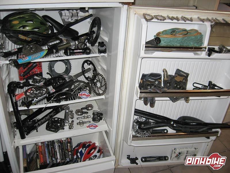 My fridge with litle parts..