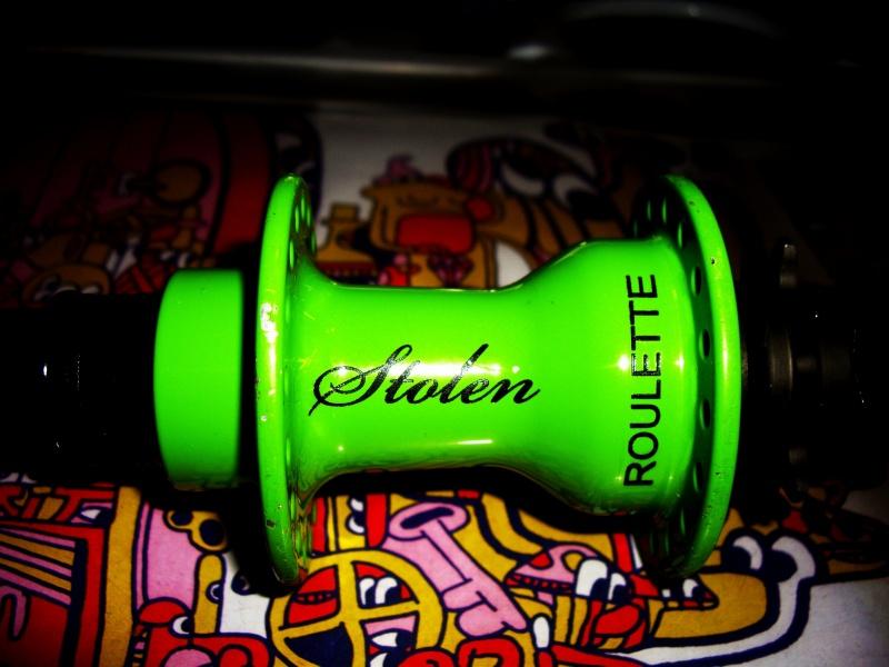 my bmx hub stolen roulete