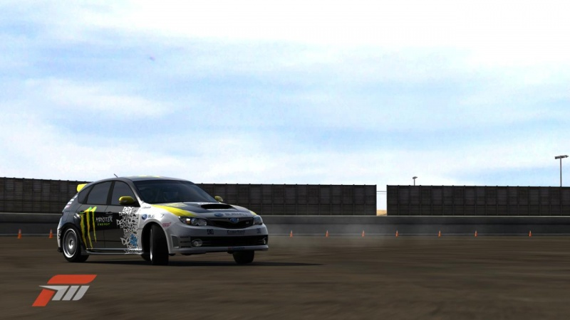 a pic i took of my sti while playing,yeh thats in game graphics. the tuning and ai for the cars is insanely realistic