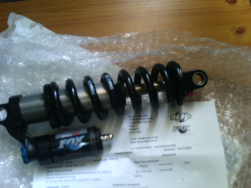 warranty repair by MOJO suspension, shock seems fine now and was very quick service had it back to me in 3 days