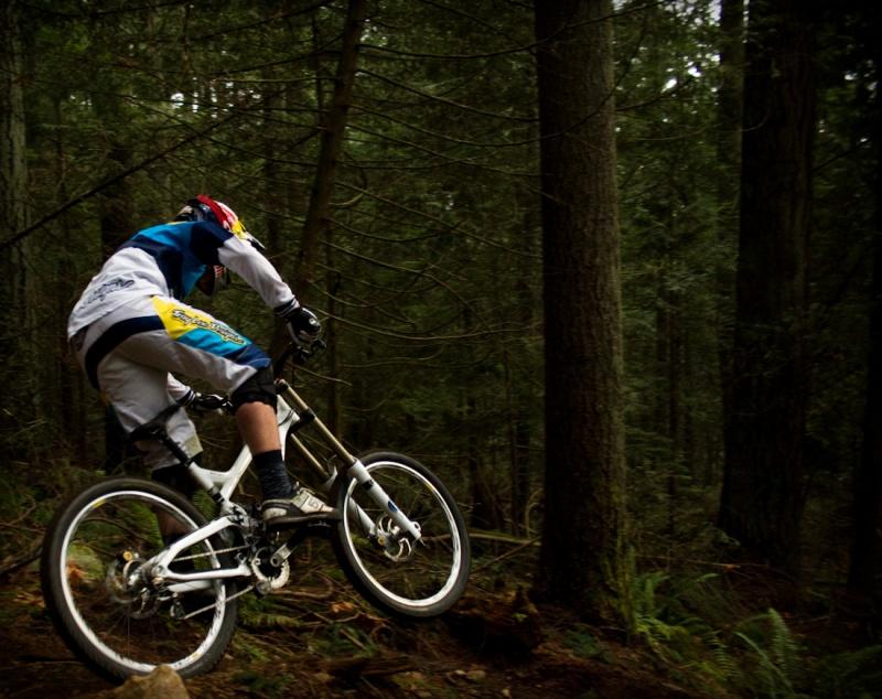 Steve Smith killing some trails.