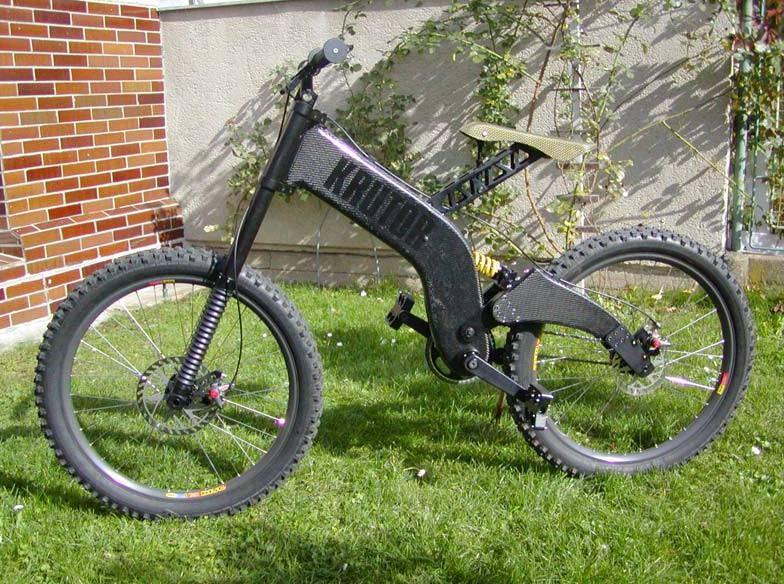 Krutor Carbon crazy DH Bike