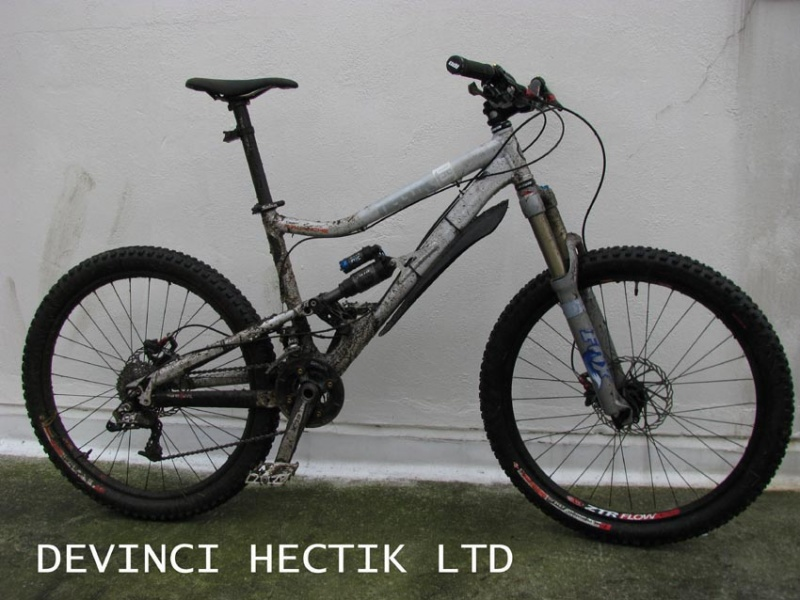 Devinci Hectik after a muddy morning ride...