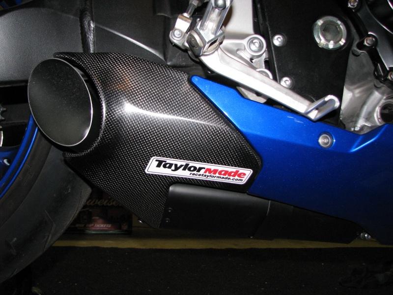 08 Suzuki GSXR 750 Taylormade Full Exhaust