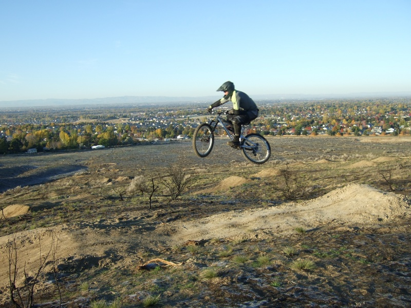 Stormin Mormon trail - 24 foot jump after first drop.