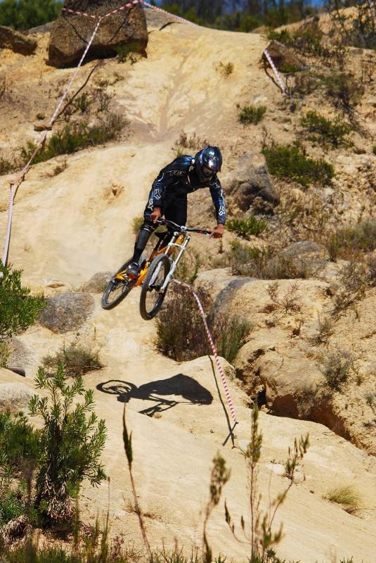 Paarl DH Race Practice 2010