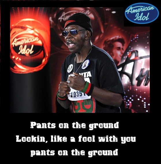 It appears that there's a Pants on the Ground record deal in the works for overnight singing sensation, 62 years old General Larry Platt.