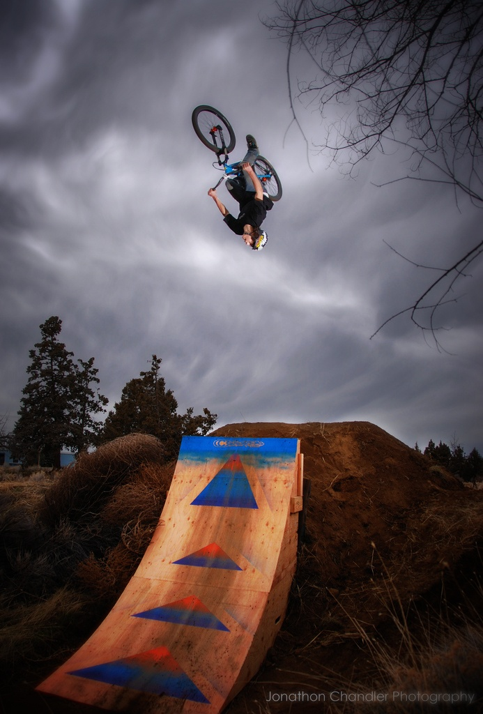 Photo: Jonathon Chandler. Carson killing it on the volcano jump. We are going to film out here for the winter edit. Dropping soon! http://www.TriggerVisionMedia.com