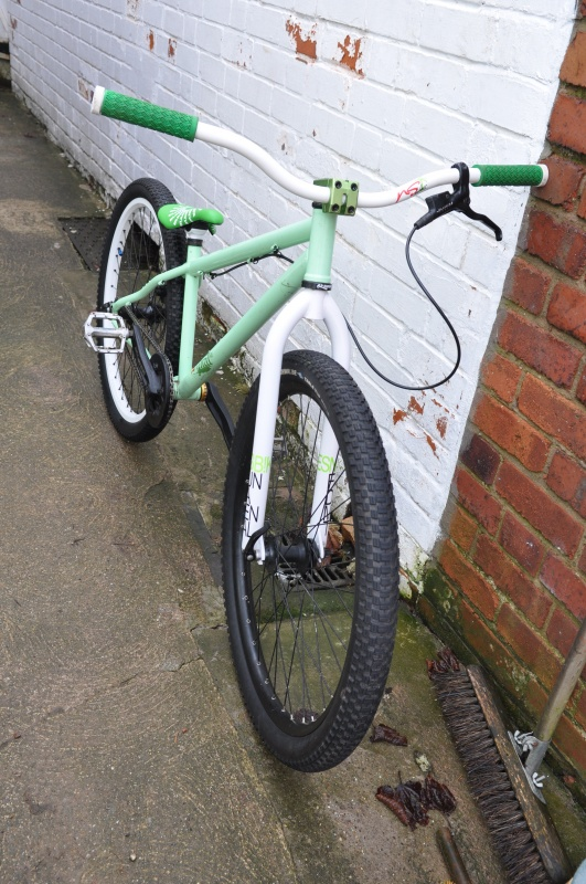 new forks, seat and seatpost :)