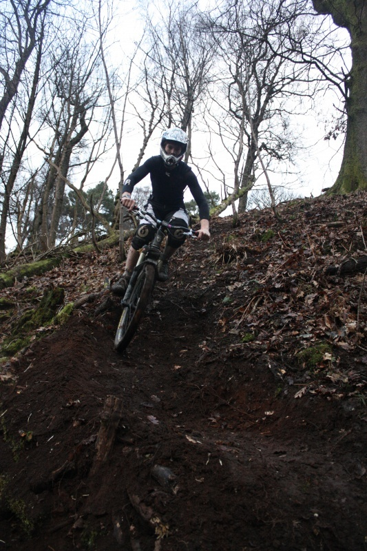 Pinning on eh new trail