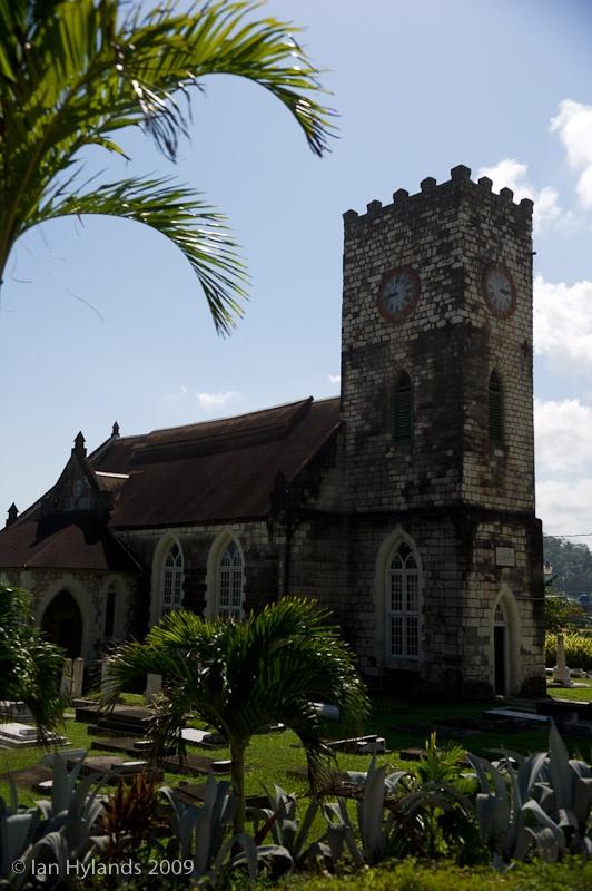 A church in Port Maria