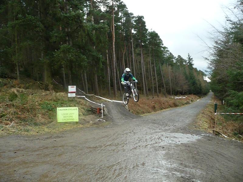 the road gap at hamsterley