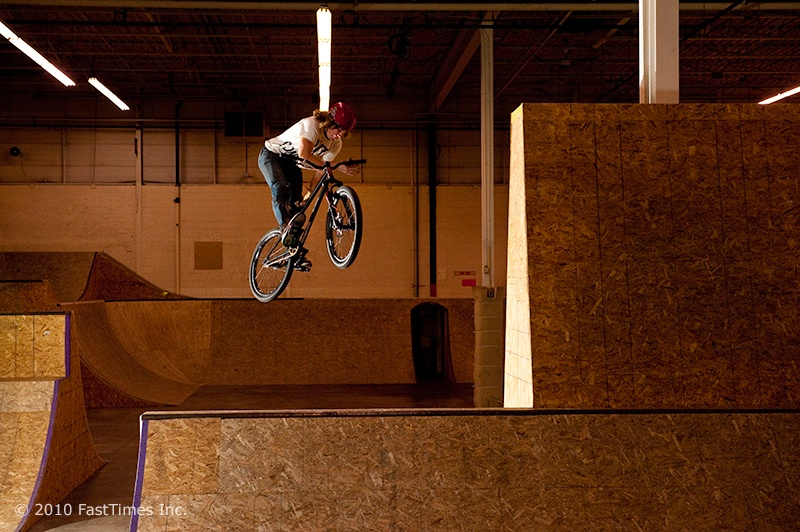 Barspin spine - Marc Landry Photo