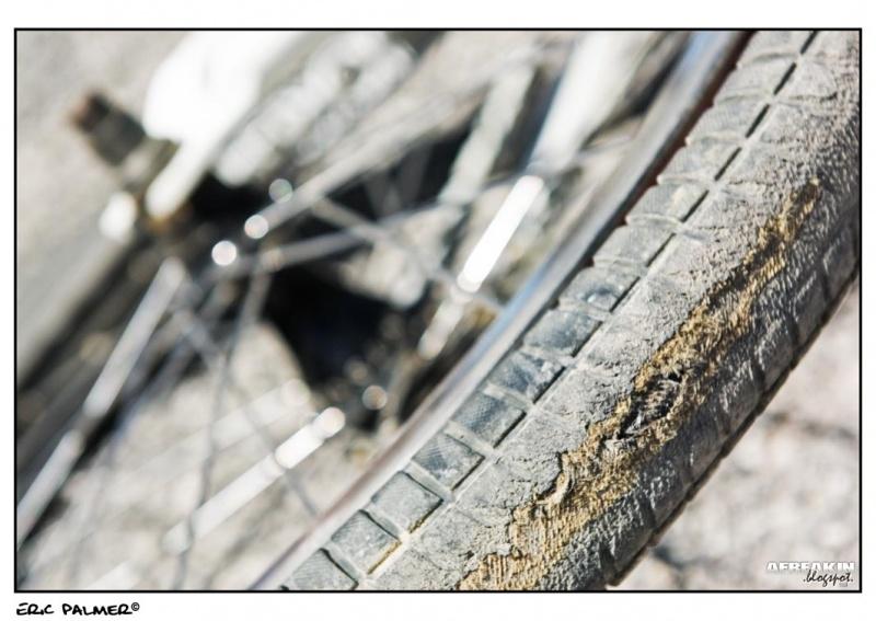Exploded Tyre  afreakin.blogspot.com Eric Palmer©