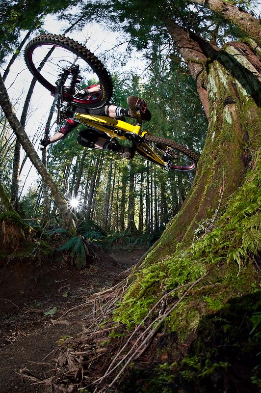 stump ride on the TR450