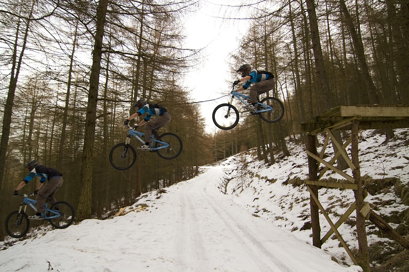 Road Gap in the snow? Nutter!