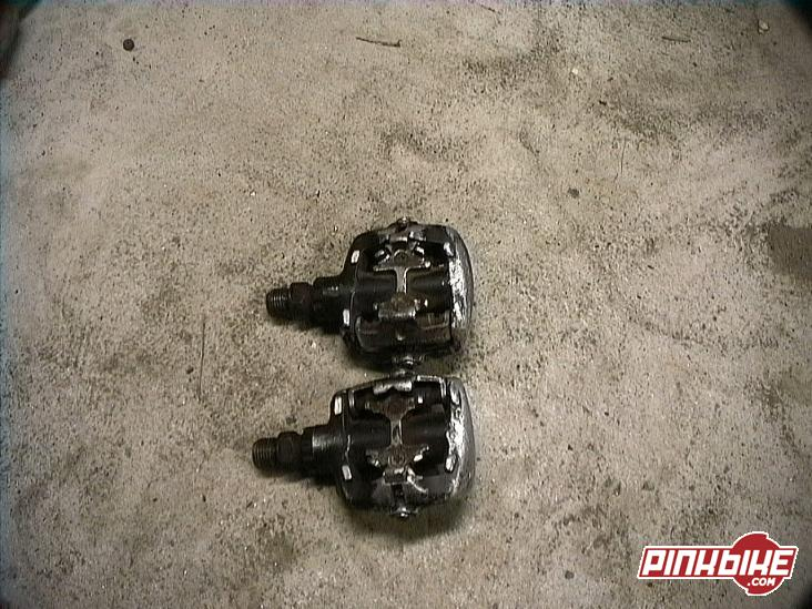 shimano 545 clippless pedals