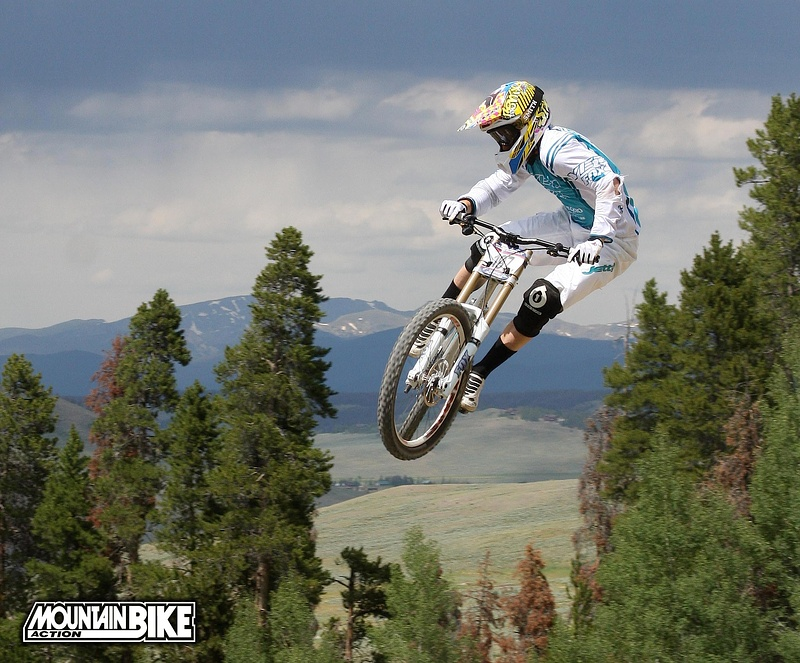 Aaron Gwin at the 09 national championships