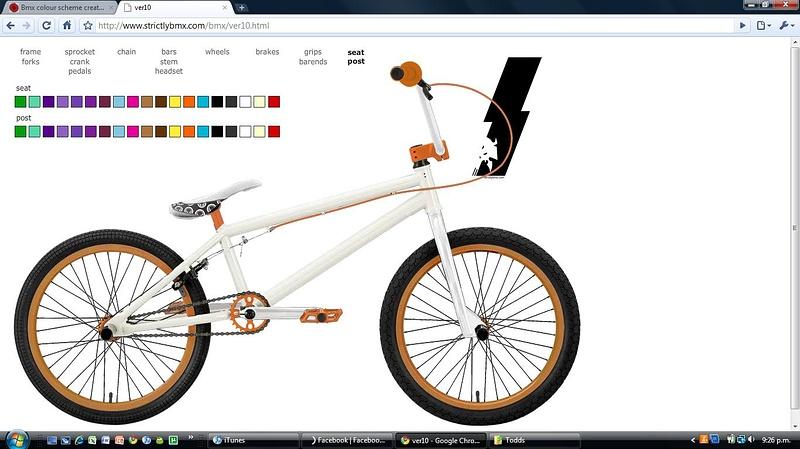 Bmx colour scheme creator :D - Page 2 - Pinkbike Forum