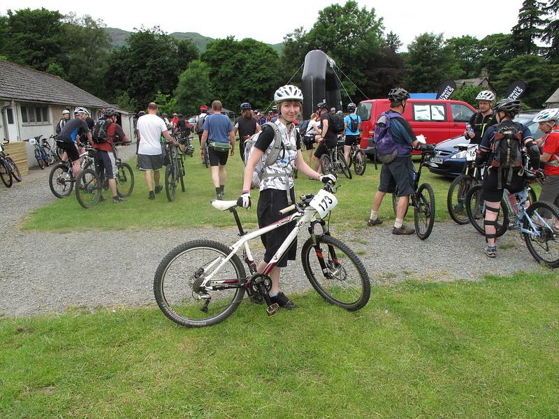 Beginning of Grasmere Mountain Bike Challenge