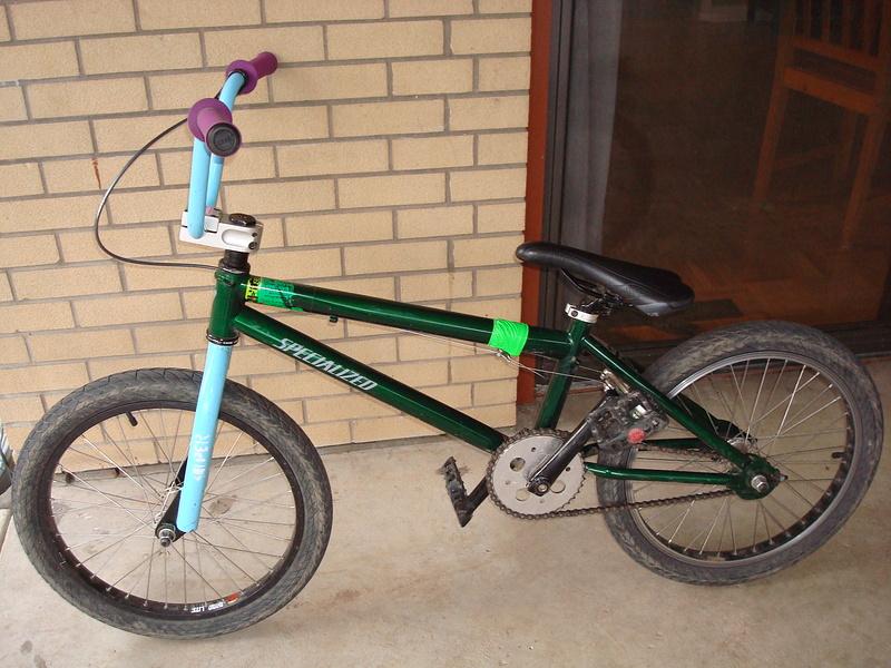 My bmx bike after some upgrades